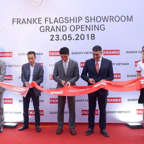 Dudoff Việt Nam trở thành đối tác của tập đoàn Franke Thuỵ Sĩ