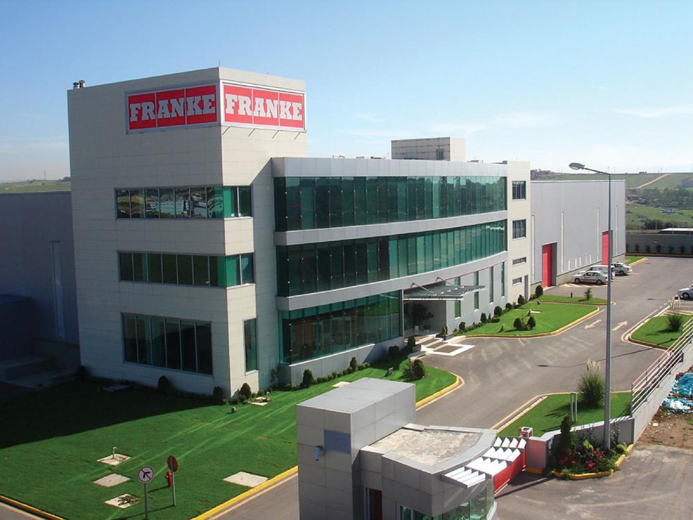 Trụ sở Franke tại Aarburg, Thụy Sĩ