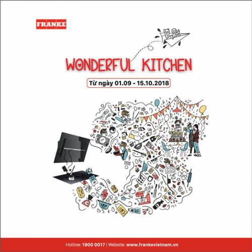 Cơ hội sở hữu thiết bị nhà bếp đỉnh cao Thụy Sĩ cùng Franke